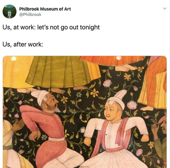 Philbrook Museum of Art using social media