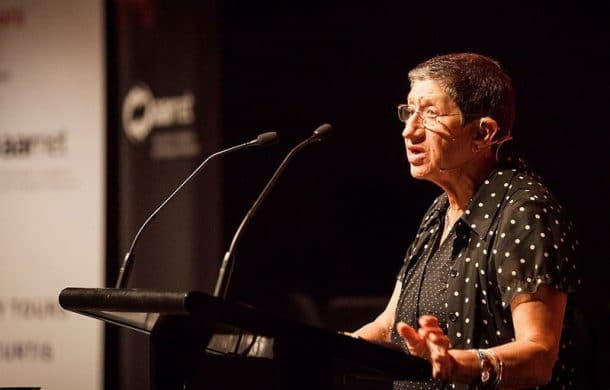 Elaine Heumann Gurian speaking at the MuseumNext Australia conference