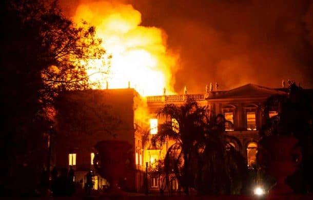 brazilian museum destroyed