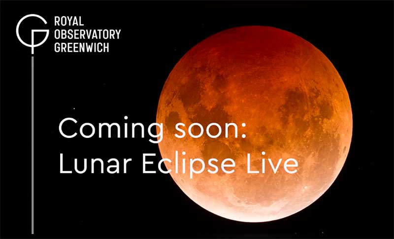 Lunar Eclipse Live - Facebook Live