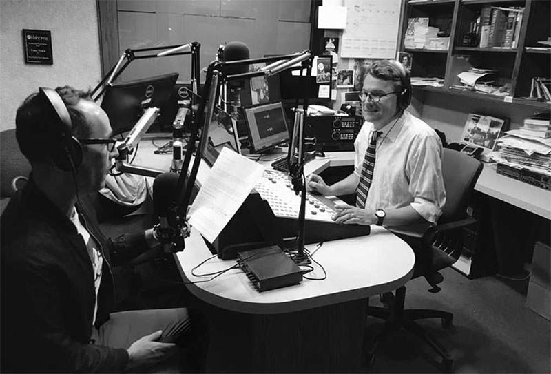 Recording the Museum Confidential Podcast