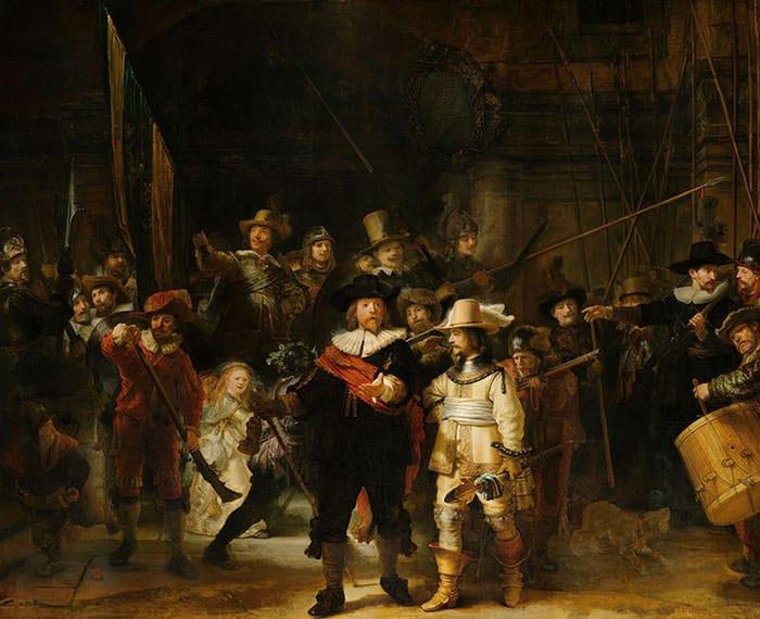 Night Watch at Rijksmuseum