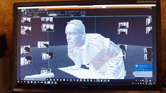 Making of an augmented reality museum experience