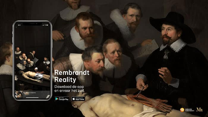 Museum uses AR app