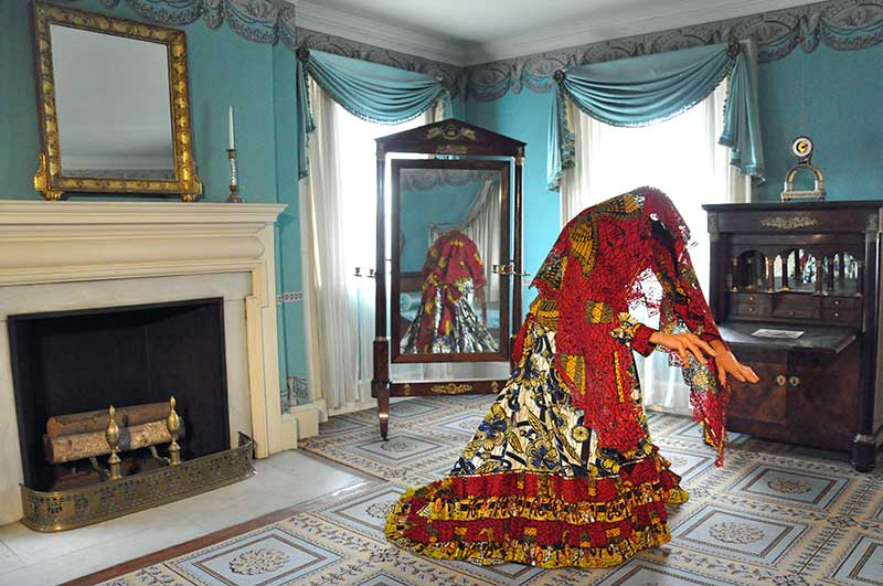 Ghost of Eliza Jumel by Yinka Shonibare (Image: Trish Mayo)