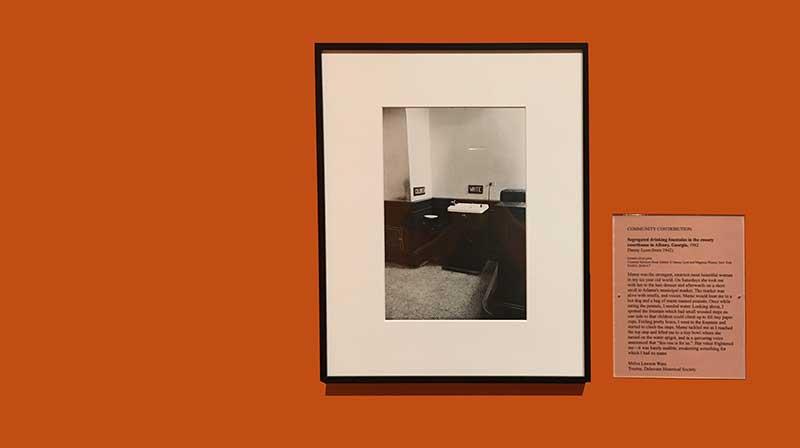 Danny lyons melva ware interpretation Delaware Art Museum