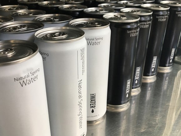 museum canned spring water