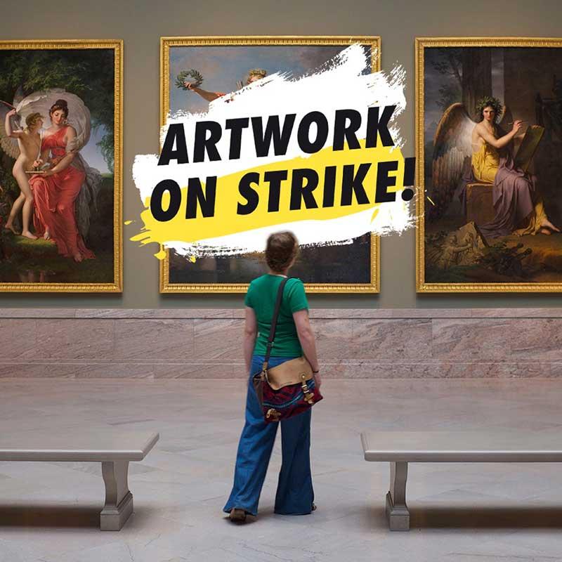 Artwork on Strike